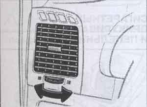 вентиляционные отверстия Toyota Camry, вентиляционные отверстия Toyota Solara