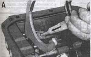 вилка переключения передач Toyota Land Cruiser