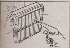 воздушный фильтр Toyota bB