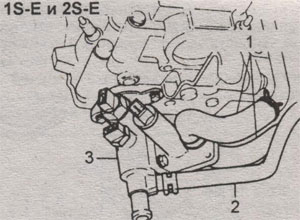 Воздушный клапан Toyota Camry