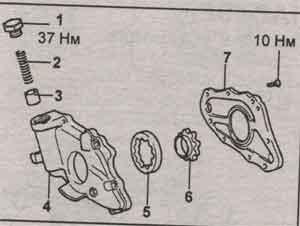 заглушка клапана Toyota Caldina