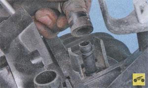 замена пневмоклапана Toyota Corolla, замена пневмоклапана Toyota Auris