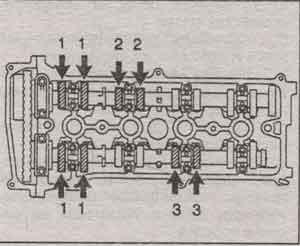 зазор клапанов Toyota RAV4