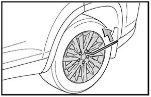 Гайки колеса Toyota Highlander с 2013